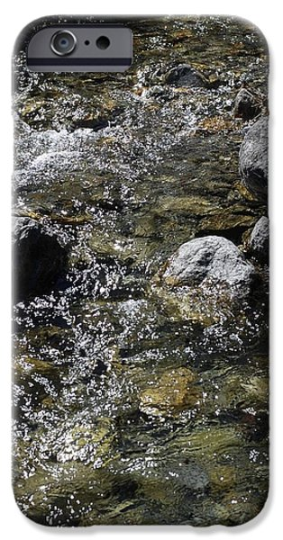 River iPhone Cases - Down The River iPhone Case by Gina Dsgn