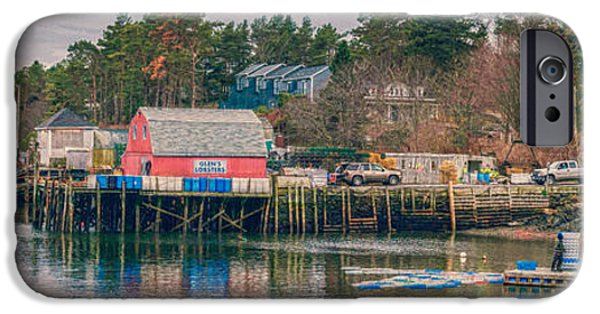 Bailey Island iPhone Cases - Downeast iPhone Case by Guy Whiteley