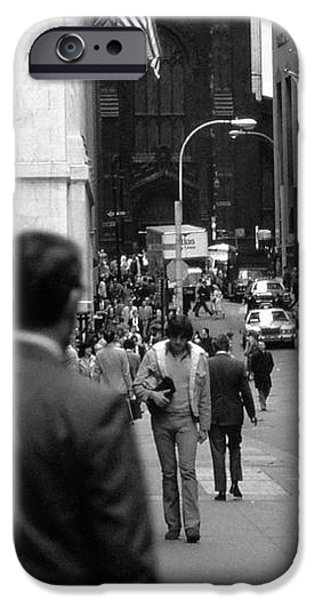 Downtown 1978 iPhone Case by Bob Stone