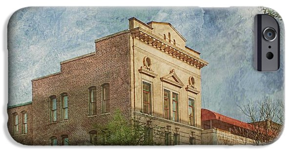 Artography Photographs iPhone Cases - Downtown Beauty iPhone Case by Melissa Bittinger