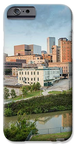 Downtown Houston from UH-D. September iPhone Case by Silvio Ligutti