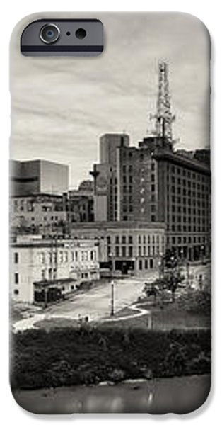 Downtown Houston from UH-D iPhone Case by Silvio Ligutti