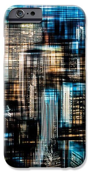 Downtown II - dark iPhone Case by Hannes Cmarits