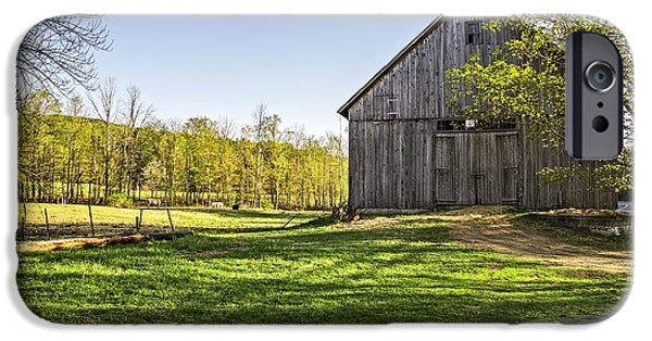 Best Sellers -  - Agricultural iPhone Cases - Downtown Metropolitan Etna NH iPhone Case by Edward Fielding