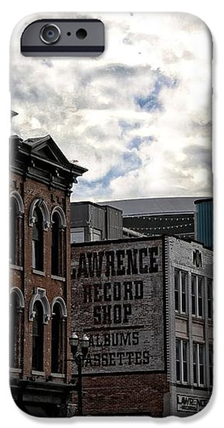 Downtown Nashville iPhone Case by Dan Sproul