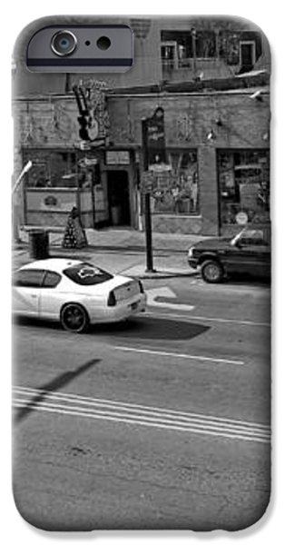 Downtown Nashville Legends Corner iPhone Case by Dan Sproul