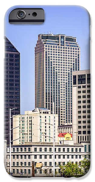 Downtown New Orleans Buildings iPhone Case by Paul Velgos