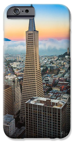 Bay Area iPhone Cases - San Francisco Fog iPhone Case by Inge Johnsson