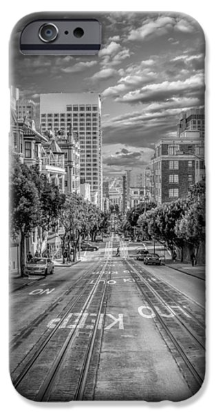 Center City iPhone Cases - Downtown San Francisco II iPhone Case by Erik Brede