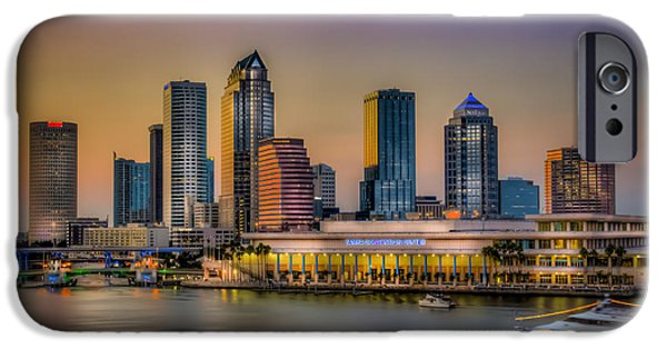 Hospital iPhone Cases - Downtown Tampa iPhone Case by Marvin Spates