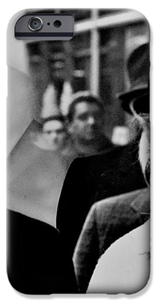 Dr and Mrs King iPhone Case by Benjamin Yeager