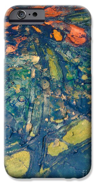 Pastel Tapestries - Textiles iPhone Cases - Dragonfly 007 iPhone Case by Lori Russell