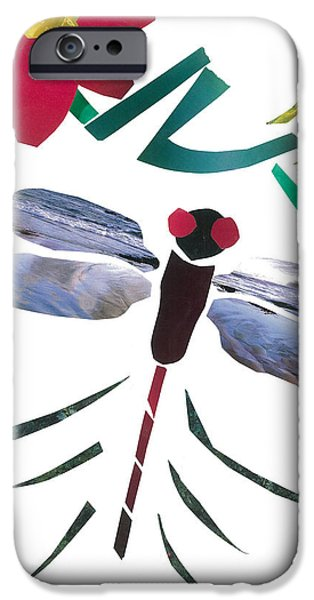 Dragonfly iPhone Case by Earl ContehMorgan