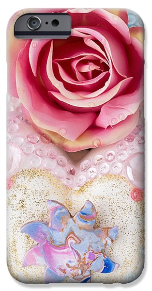 Magical Reliefs iPhone Cases - Dragonsun Detail No. 2 iPhone Case by Heidi Sieber