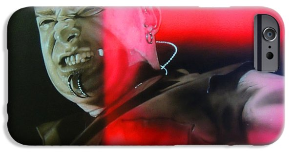 David iPhone Cases - Draiman iPhone Case by Christian Chapman Art