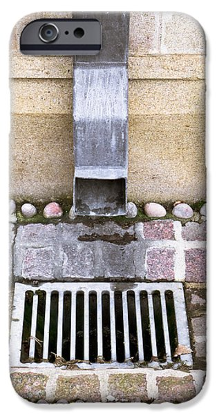 Drain iPhone Cases - Drain iPhone Case by Tom Gowanlock