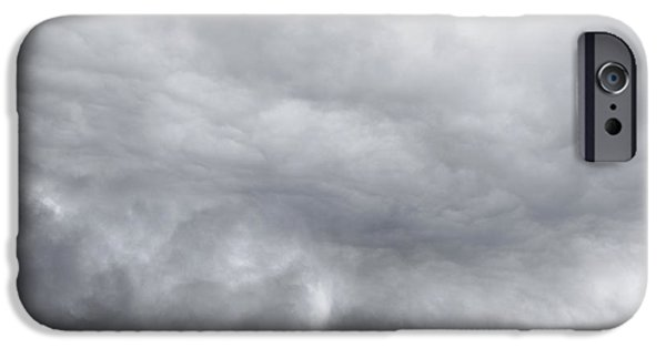 Bad Weather iPhone Cases - Dramatic sky iPhone Case by Les Cunliffe