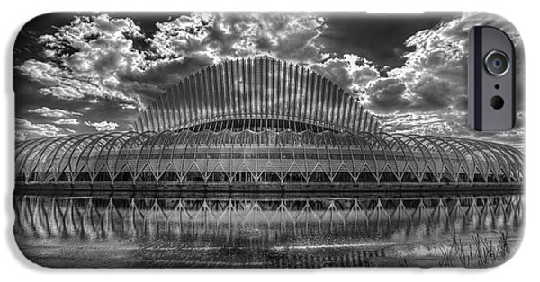 Technical Photographs iPhone Cases - Dramatic Sky iPhone Case by Marvin Spates