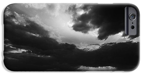 Counterpoint iPhone Cases - Dramatic sky iPhone Case by Stefan Dinov