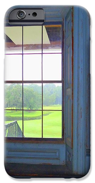 Drayton Hall 8 iPhone Case by Ron Kandt
