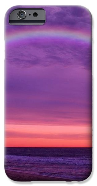 Dream Along The Ocean iPhone Case by Angie Tirado