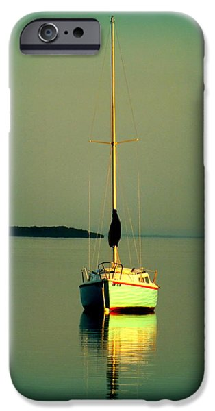 DREAM BAY iPhone Case by KAREN WILES