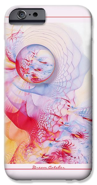 Dream Catcher iPhone Case by Gayle Odsather