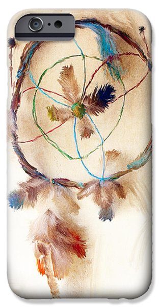 Design iPhone Cases - Dream Catcher iPhone Case by Ted Guhl