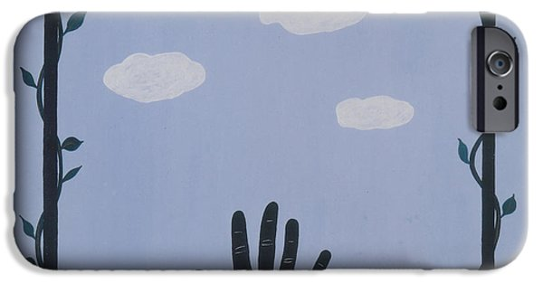Integral Paintings iPhone Cases - Dream iPhone Case by Elle Nicolai