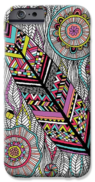 Dream Feather iPhone Case by Susan Claire