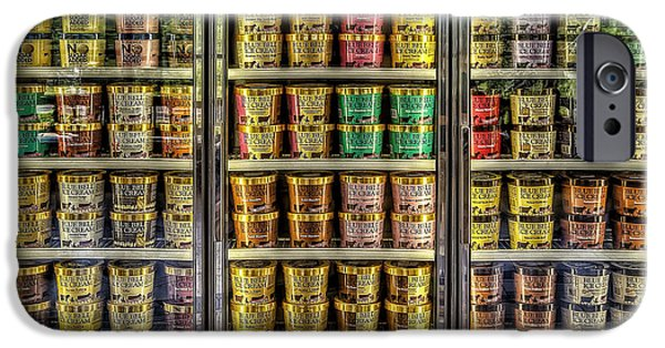 Dessert iPhone Cases - Dream Fridge iPhone Case by Scott Norris