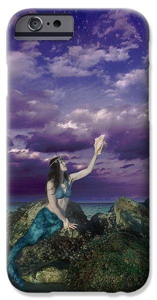 Dream Mermaid iPhone Case by Alixandra Mullins