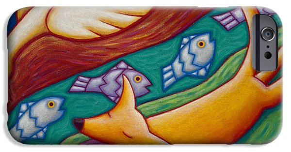 Dream Scape iPhone Cases - Dream Runner iPhone Case by Mary Anne Nagy