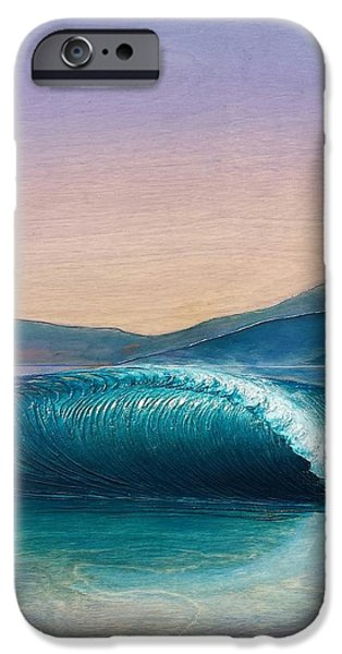 Ocean Reliefs iPhone Cases - Dream Wave iPhone Case by Nathan Ledyard