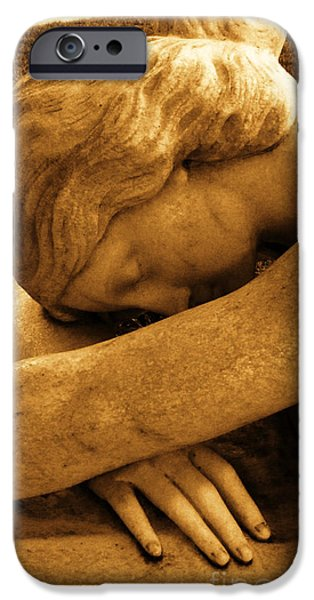 Usa Sculptures iPhone Cases - Dreaming iPhone Case by Nathan Little