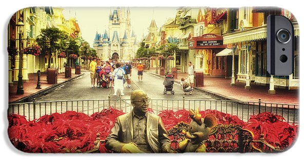 Casey Digital iPhone Cases - Dreaming Of Paradise Walt Disney World iPhone Case by Thomas Woolworth
