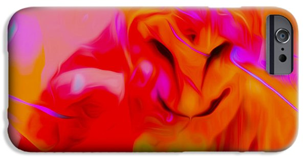 Ballet Of Colors iPhone Cases - Dreaming Of Wisdom iPhone Case by Michael T Moreno