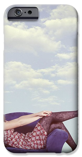 dreaming to fly iPhone Case by Joana Kruse