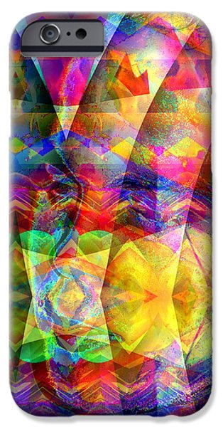 Recently Sold -  - Abstract Digital iPhone Cases - Dreaming iPhone Case by Visual Artist  Frank Bonilla