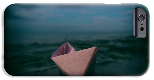 Sailboat Ocean iPhone Cases - Dreams iPhone Case by Stylianos Kleanthous