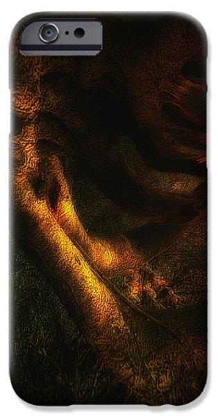 Dreamscape Digital Art iPhone Cases - Dreamscape 01 iPhone Case by Mimulux patricia no