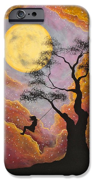 Moonscape iPhone Cases - Dreamy iPhone Case by Cynthia Ring