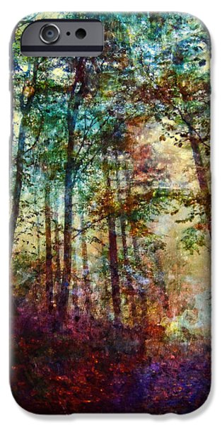 Hidden Desires iPhone Cases - Dreamy Forest iPhone Case by Joe Misrasi