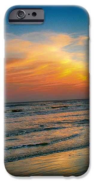 Hallmark Greeting Card iPhone Cases - Dreamy Texas Sunset iPhone Case by Kristina Deane