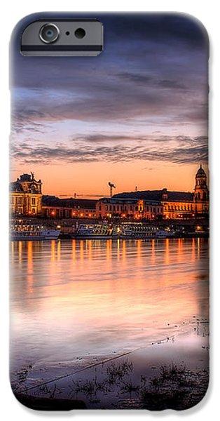 Dresden Sunset iPhone Case by Steffen Gierok