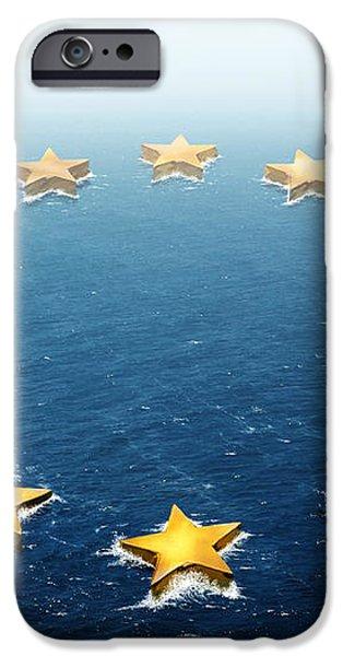 Drifting Europe iPhone Case by Carlos Caetano