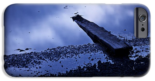 Abstract Seascape iPhone Cases - Driftwood iPhone Case by Ivan Slosar