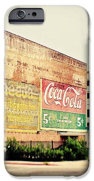 Drink Coca Cola iPhone Case by Scott Pellegrin