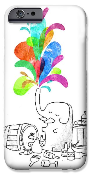 Drink Drank Drunk iPhone Case by Budi Satria Kwan