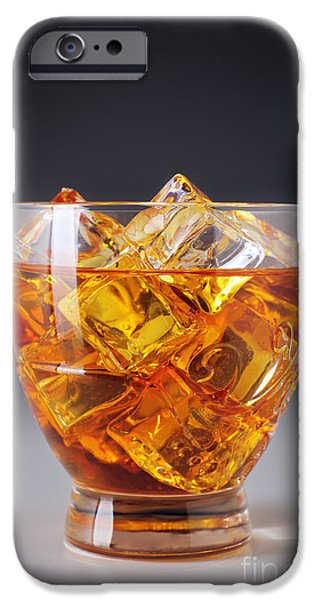 Irish Photographs iPhone Cases - Drink on ice iPhone Case by Carlos Caetano